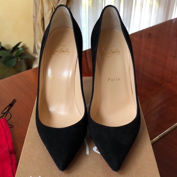 wholesale dealer abac5 d11e6 Christian Louboutin Pigalle Follies black suede